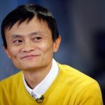 Jack Ma, founder and chief operating officer of Alibaba Group., smiles during an interview, in New York, March 12, 2009.    REUTERS/Chip East (UNITED STATES BUSINESS HEADSHOT SCI TECH) - RTXCPBU